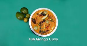 Fish Mango Curry A Delicious Food At The Grilly Restaurant, Muscat